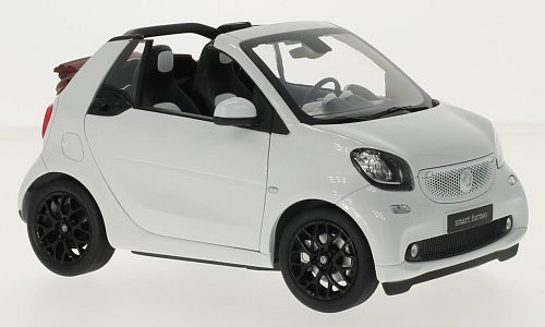 Smart fortwo Cabrio (A453), weiss