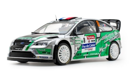 Ford Focus RS WRC, No.8, Rally Touquet