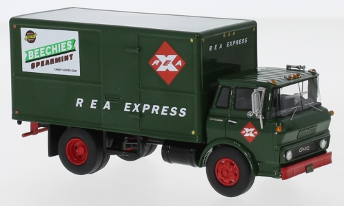 GMC Steel Tilt Cab Box Truck, REA Express