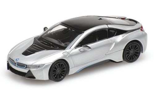 BMW i8 Coupe, silber