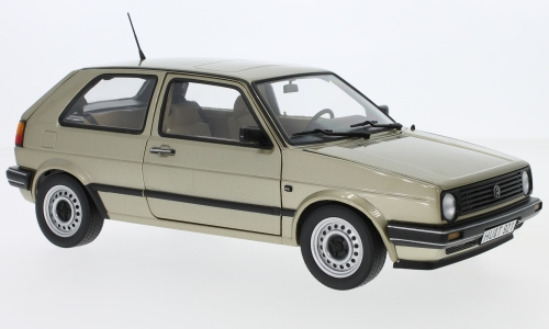 VW Golf II CL, metallic-beige