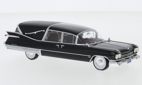 Cadillac Superior Crown Royale Landau Hearse, schwarz