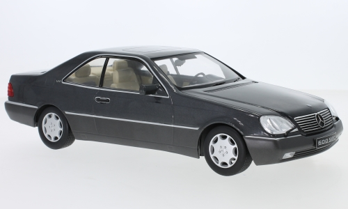 Mercedes 600 SEC (C140), metallic-anthrazit