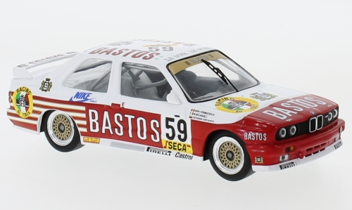 BMW M3 (E30), No.59, Bastos, WTCC, 24h Spa