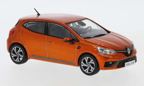 Renault Clio RS Line, metallic-orange