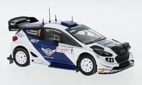 Ford Fiesta WRC, No.1, Rally Artic Lapland