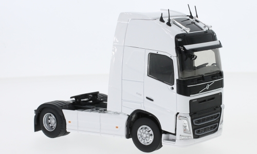 Volvo FH 4 500 Globetrotter, weiss