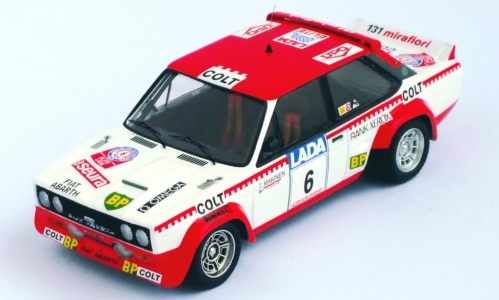 Fiat 131 Abarth, No.6, Colt, Rallye WM, 1000 Lakes Rallye