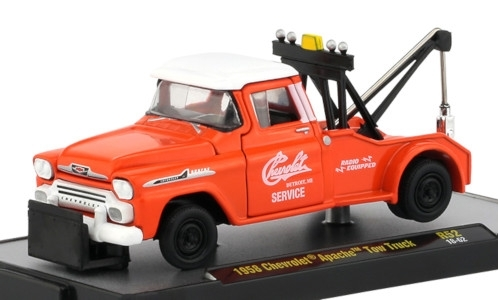 Chevrolet Apache Tow Truck, orange/weiss