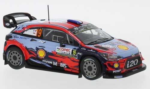 Hyundai i20 WRC, No.19, WRC, Rally Chile