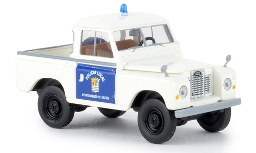 Land Rover 88 Hardtop, Police Local