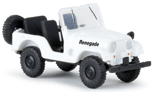 Jeep Universal, weiss, Renegade