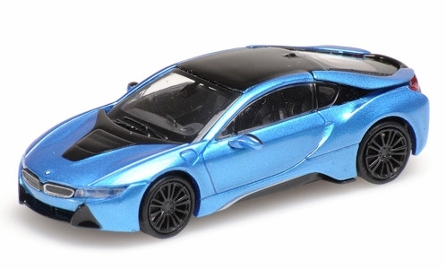 BMW i8 Coupe, metallic-blau