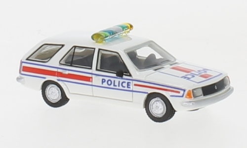 Renault 18 Break, weiss/Dekor,  Police