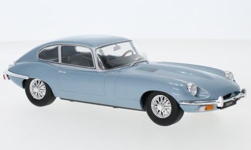 Jaguar E-Type, metallic-blau