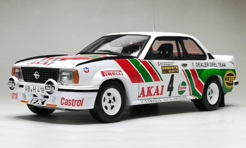Opel Ascona B 400, No.4, Opel Dealer Team, Castrol, International Sachs Winter Rallye