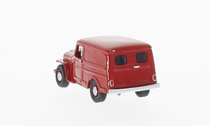 Jeep Willys Panel Van, rot