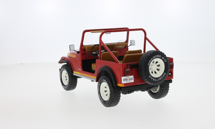 Jeep CJ-7 Renegade, rot