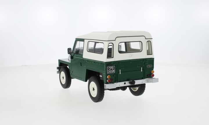 Land Rover Lightweight Series III Hard Top, dunkelgrün/beige, RHD