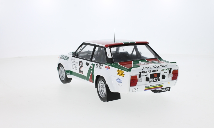 Fiat 131 Abarth, No.2,  Alitalia, Rallye WM, Rally Monte Carlo