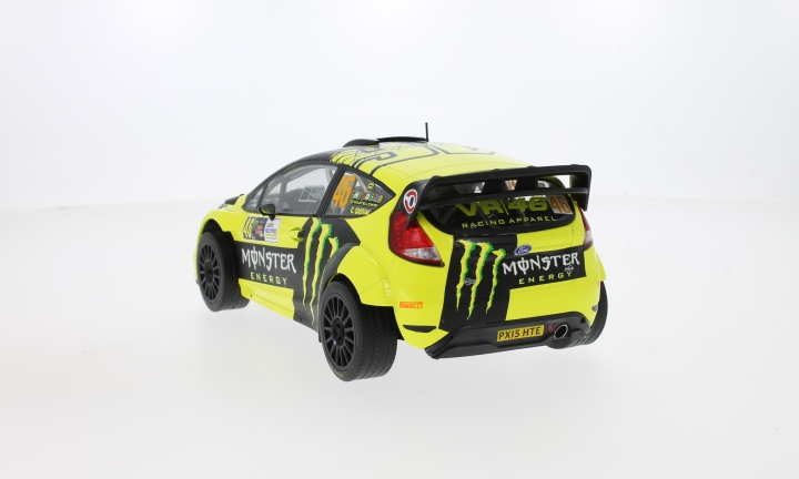 Ford Fiesta RS WRC, No.46, Monster, Rallye Monza