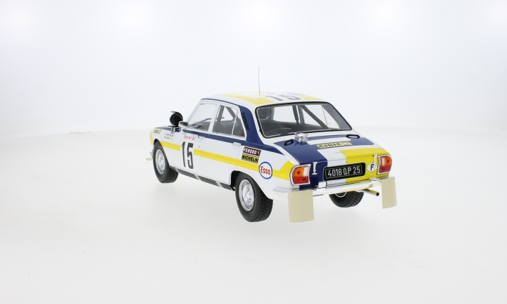 Peugeot 504 Ti, No.15, Rally Marokko