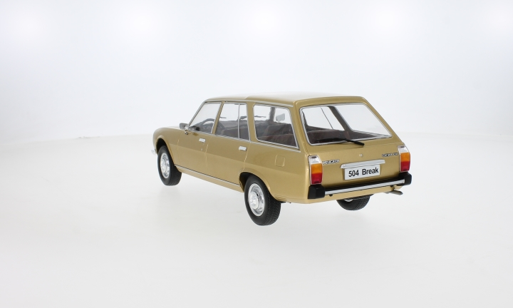 Peugeot 504 Break, gold