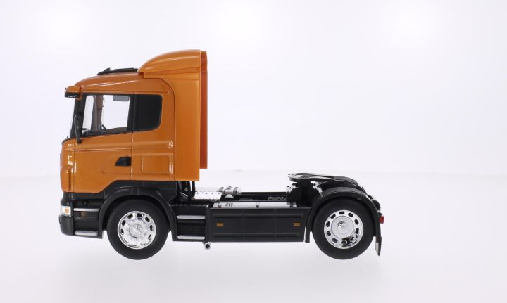 Scania R470, metallic-dunkelorange