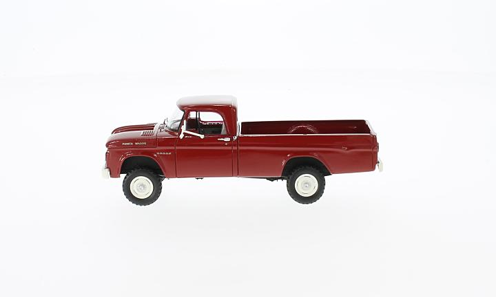 Dodge W200 Power Wagon, rot