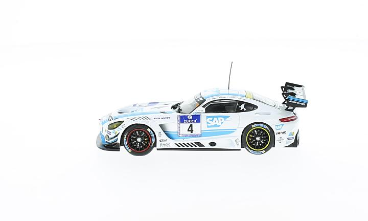 Mercedes AMG GT3, No.4, AMG-Team Black Falcon, 24h Nürburgring