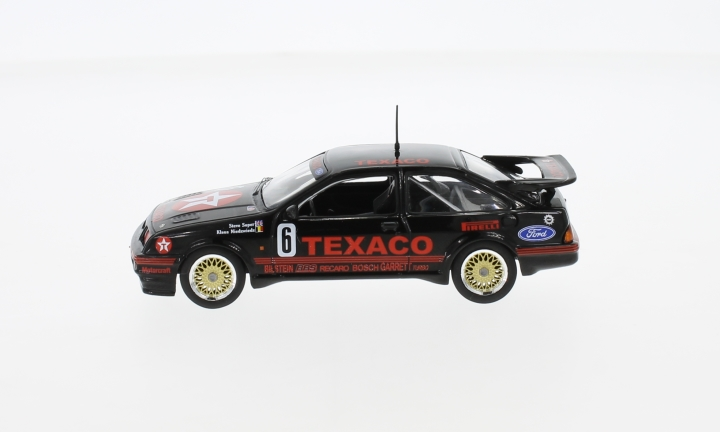 Ford Sierra RS Cosworth, No.6, Eggenberger Motorsport, Texaco, WTCC, Dijon