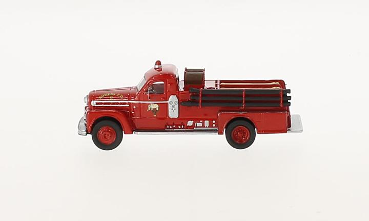 Seagrave 750 Fire Engine, rot