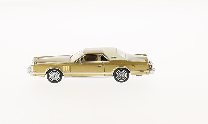 Lincoln Continental Mark V, gold/beige
