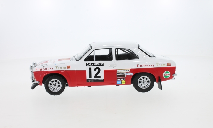Ford Escort MK1 RS 1600, No.12, Embassy, RAC Rallye