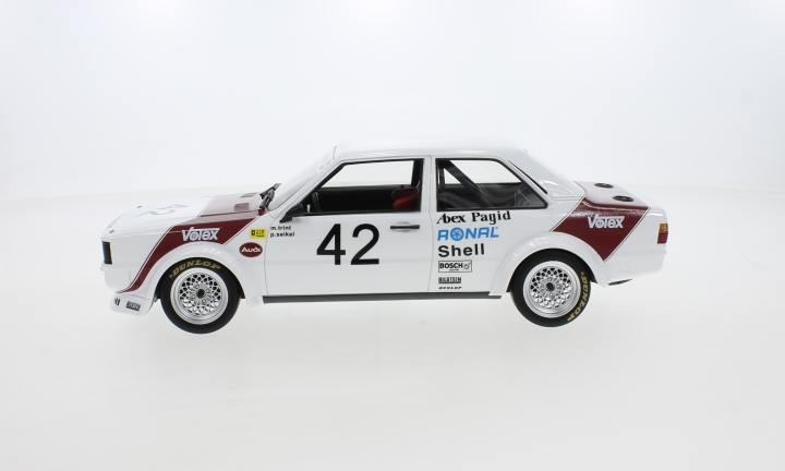 Audi 80 GTE (B2) Gr.2, No.42, Abex Pagid Racing Team, ETCC, GP Brünn