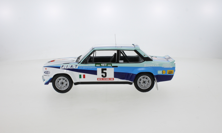 Fiat 131 Abarth, No.5, Rallye WM, Rally Portugal